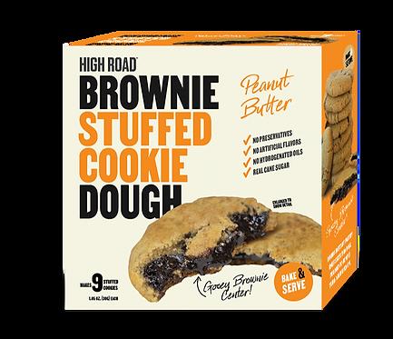 Peanut Butter - Brownie Stuffed Cookie Dough
