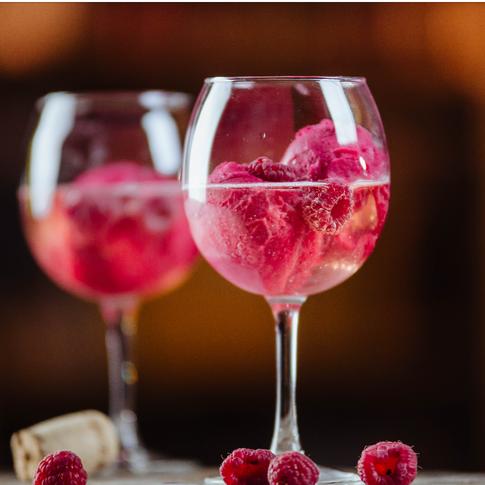 Ciao Bella Raspberry Sorbetto Cocktails