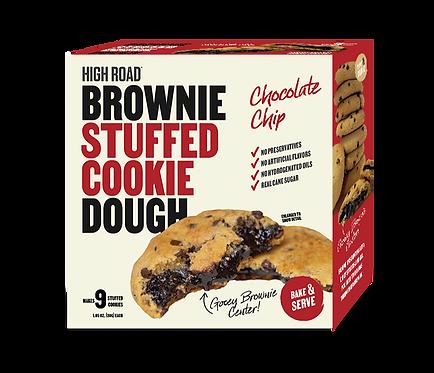 Chocolate Chip - Brownie Stuffed Cookie Dough