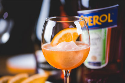 Ciao Bella Blood Orange Aperol Spritz