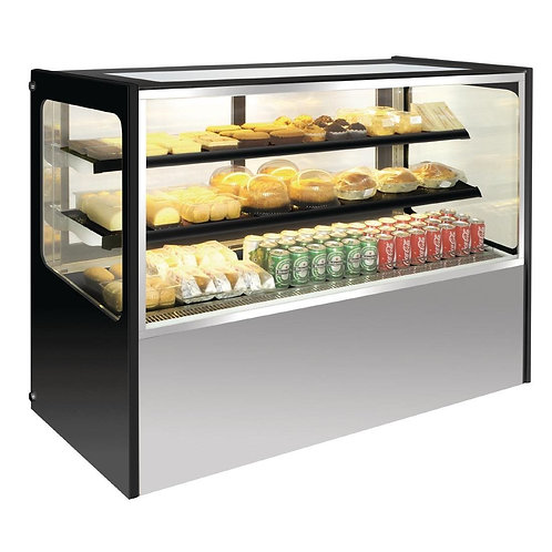 Polar Cold Deli Showcase Dimension - 1500x715x1200mm Temp +2 +8 Celsisus