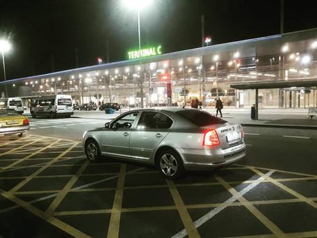 Odvoz z letiště Katowice do Bohumína.