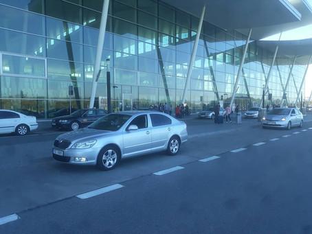 Krásný den, dneska odvoz z Karviné na letiště Wroclaw.