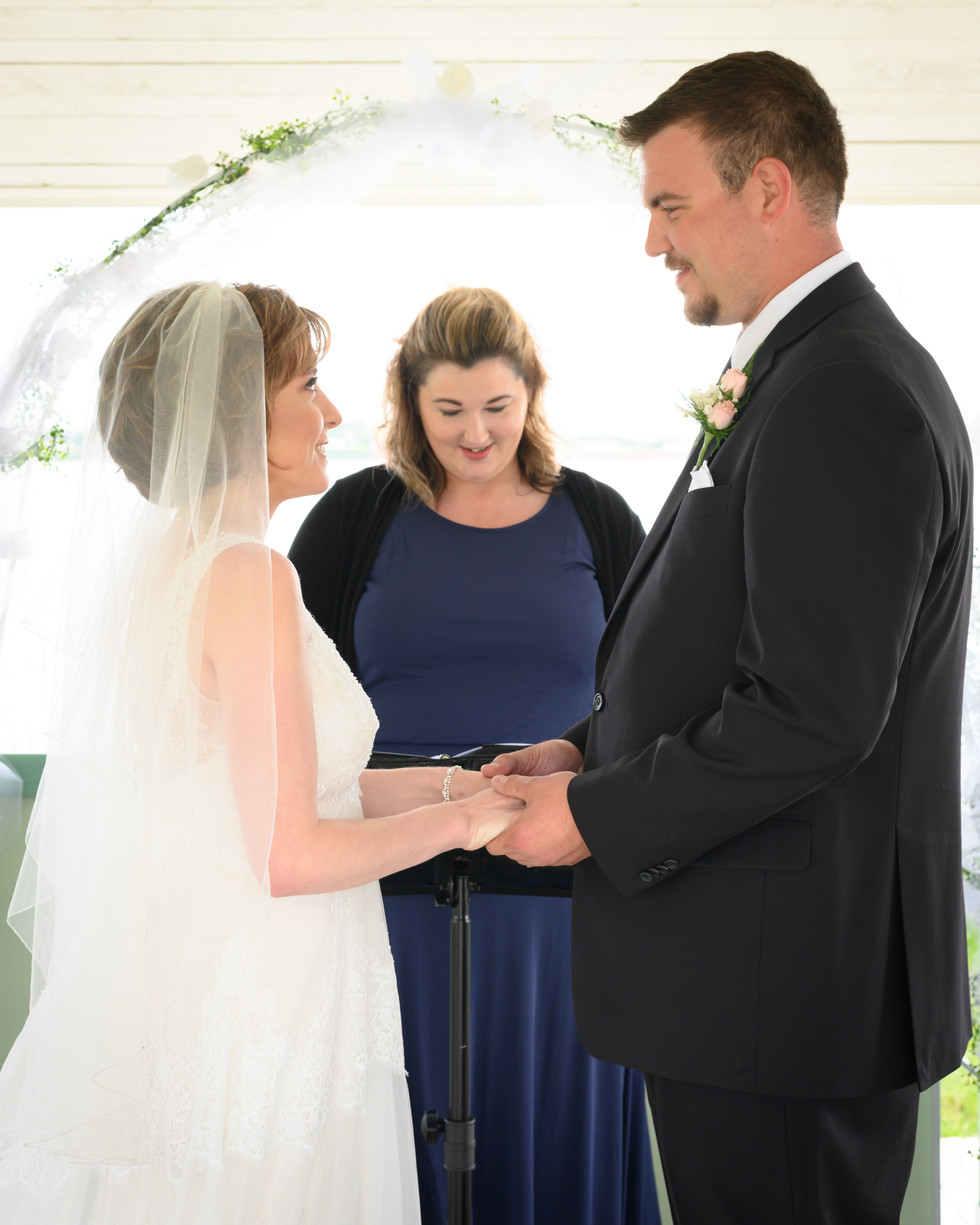 """Saying """"I Do"""" by the Ocean"""