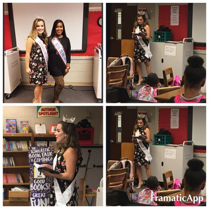Thank you Hannah Bland, Miss Madison County Princess 2017, for talking to my S.A.S.H girls today abo