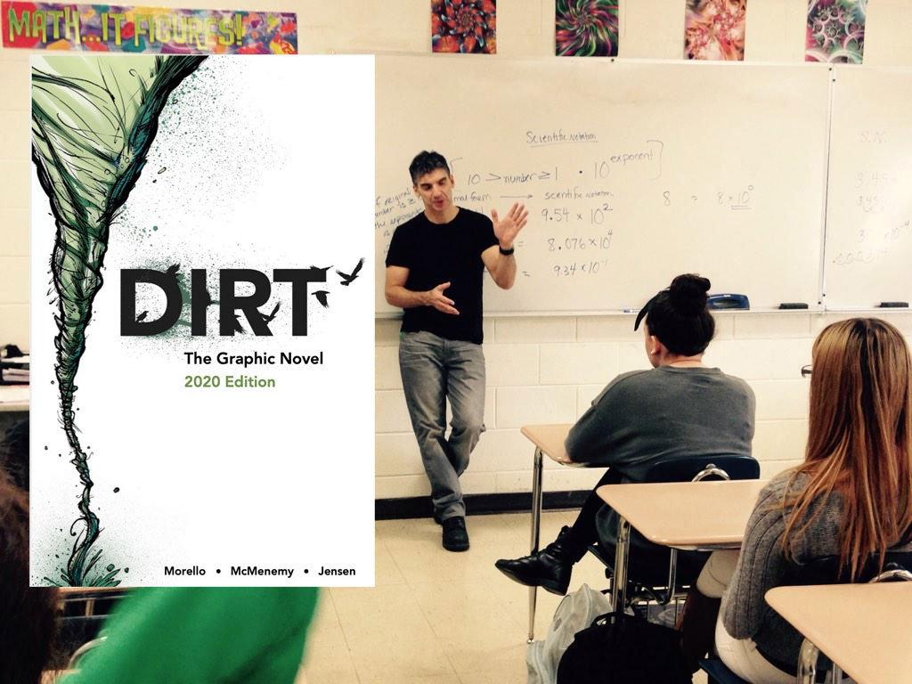John Morello Remote w/Dirt Graphic Novel