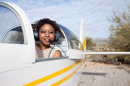 Pilot in Light Aircraft