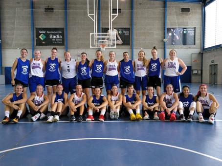 Great international girls' basketball weekend
