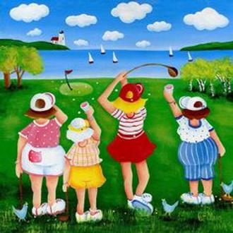 Woodswomen Weekend Golf - June 5