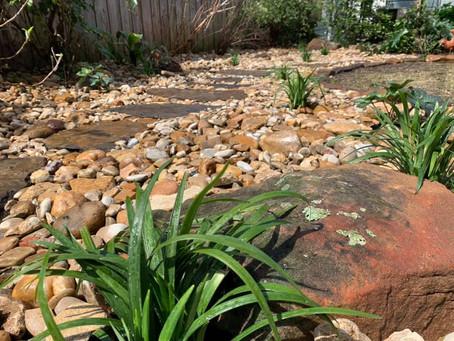 Dallas Flagstone Landscape