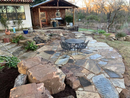 Flagstone and Boulders
