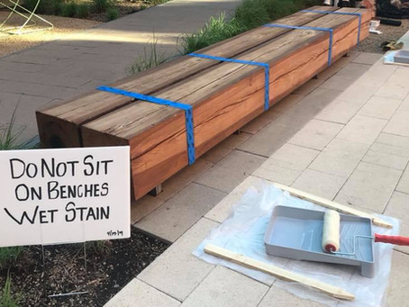 Bench staining in Dallas