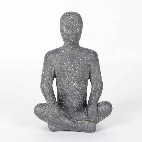 Stone Yoga Sculpture