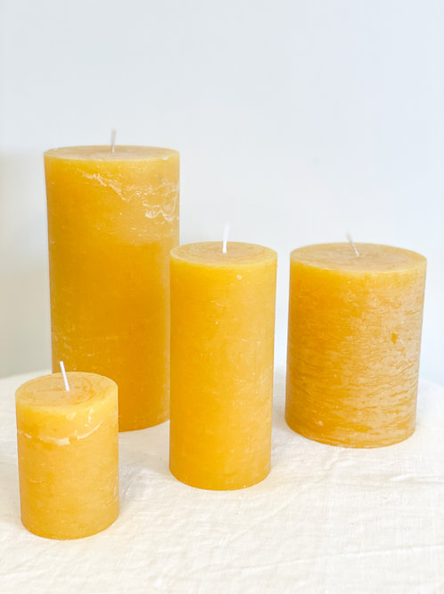 Rustic Candle Mango