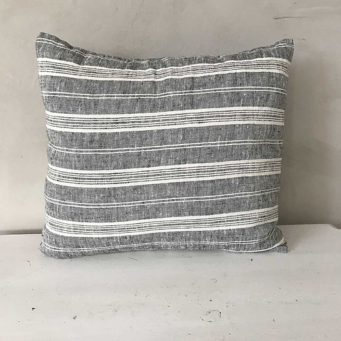 Linen Multi Striped Cushion