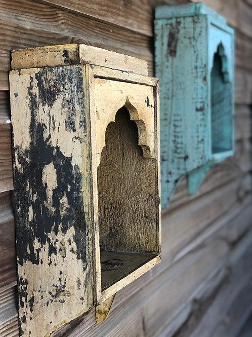 Indian Wooden Shrine