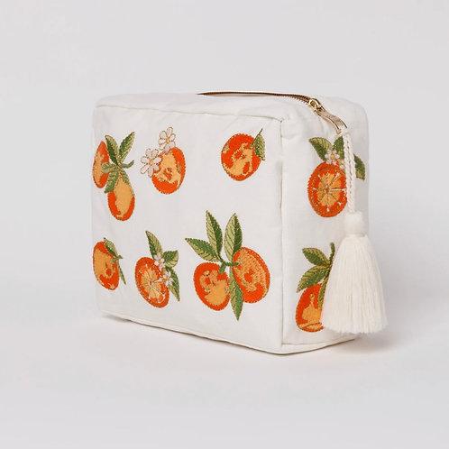 Elizabeth Scarlett Orange Blossom Wash Bag