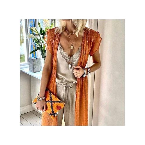 Mini Miami Clutch Bag Orange