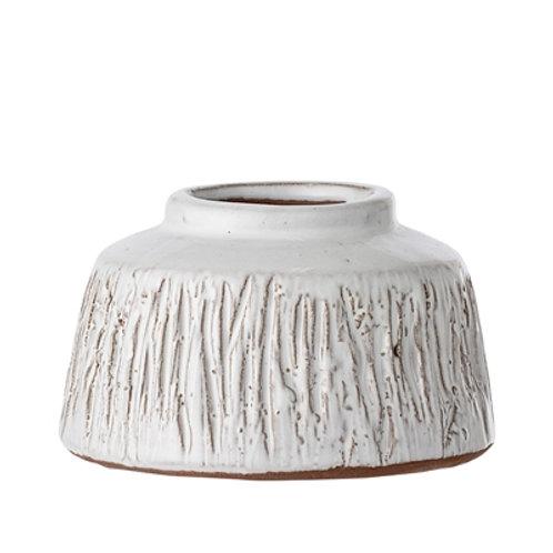 Terracotta Glazed Vase