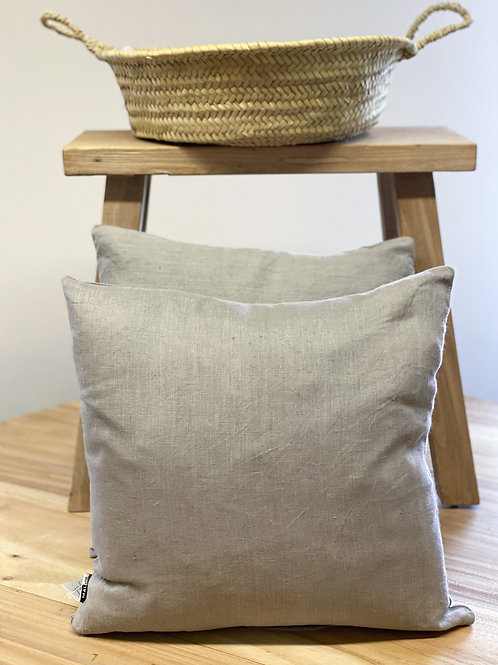 Linen Cushion Grey