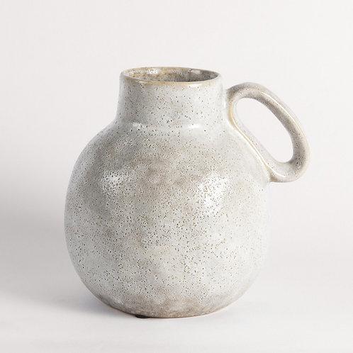 Round Earthenware Vase