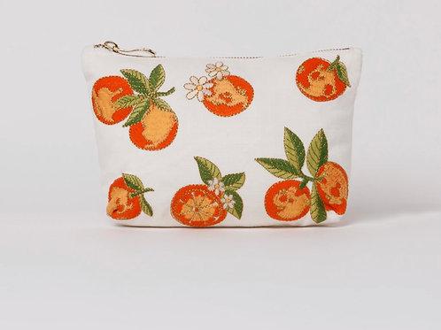 Elizabeth Scarlett Orange Blossom Makeup Bag