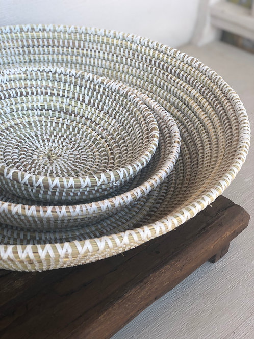 Round Woven Bowls