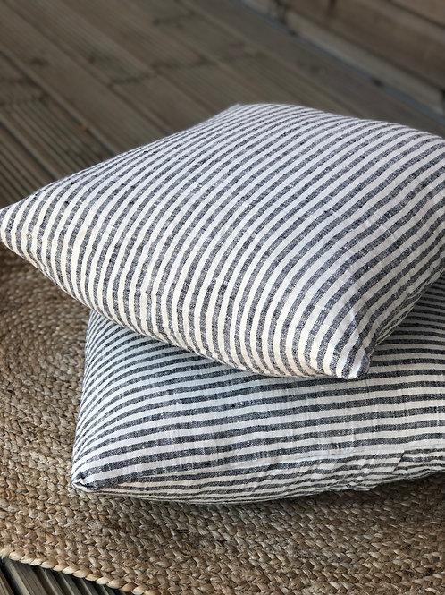 Linen Striped Cushion
