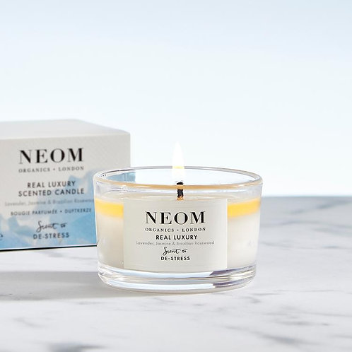 Neom Real Luxury Scented Travel Candle
