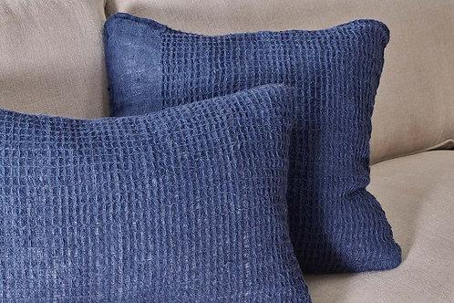 Pure Linen Navy Cushion