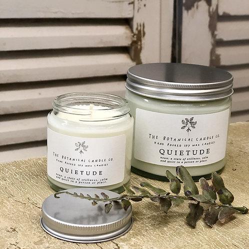 Botanical Candle Company Quietude Candle