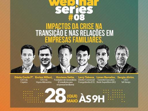 Generations participa de webinar sobre sucessão da SA Varejo