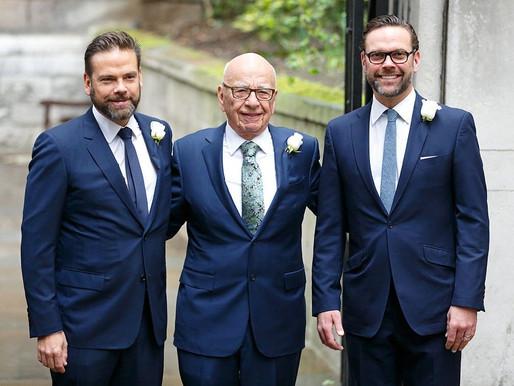 Novela Murdoch continua: filho pede demissão