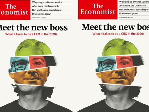 O que é preciso para ser um CEO na década de 2020 (matéria de capa da The Economist)