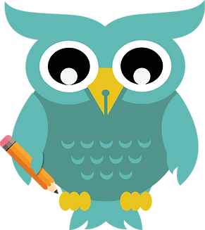 final animate fat owl teal holding no ba