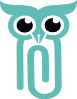 paperclip owl teal .png