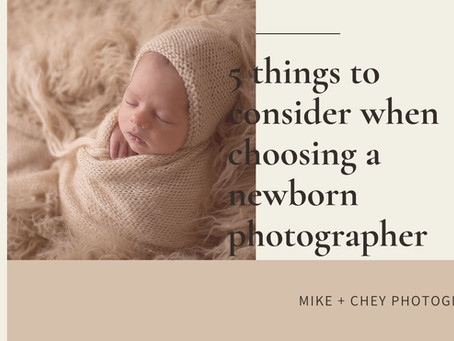 Ocean Springs, Mississippi Newborn Photographer | Choosing a newborn photographer