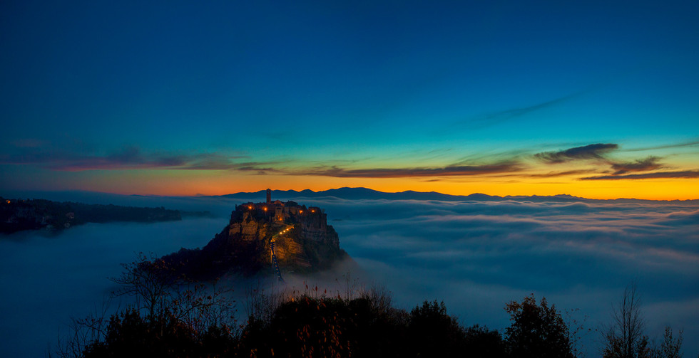 Bagnoregio - Dawn