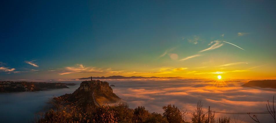 Sunrise Bagnoreggio