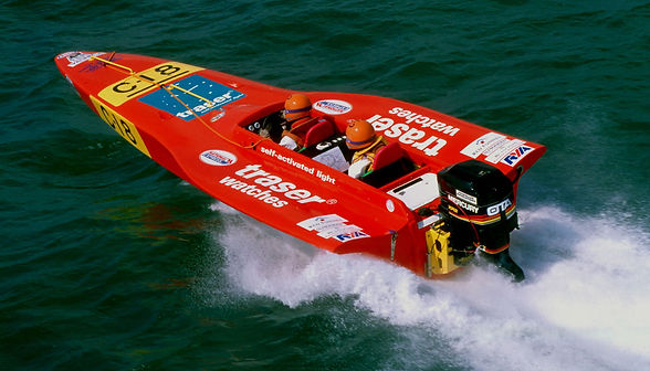TRASER WATCHES (1998) Powerboat