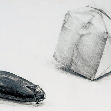 静物画 当時高校3年生。