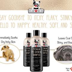 Anti-itch shampoo & conditioner in one!