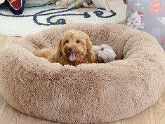 Calming Bed for Dogs, washable