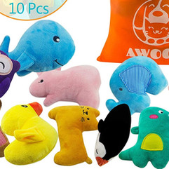 Puppy and small dog toys, 10 Pack awoof