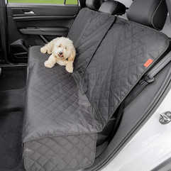 Dog car seat cover for back seat,  Lusso Gear, waterproof