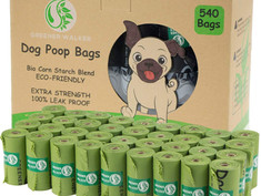 Greener walker poop bags for dog