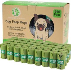 Greener walker poop bags for dog