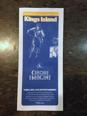 KINGS ISLAND SHOW BROCHURE
