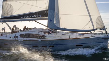 Allures 40.9 : un voilier de croisière élégant et performant