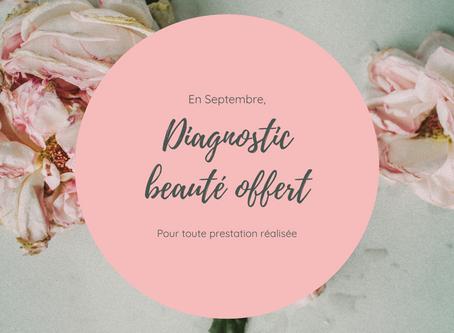 Diagnostic beauté offert